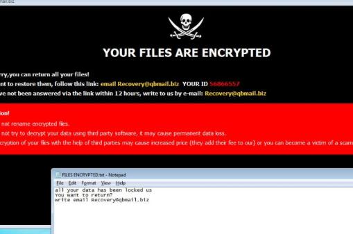 Jwjs ransomware Remoção