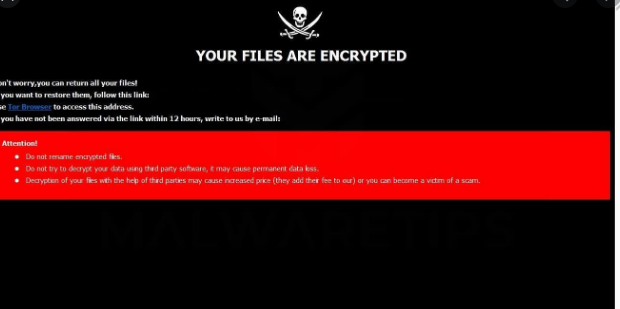 Fjerne Null ransomware