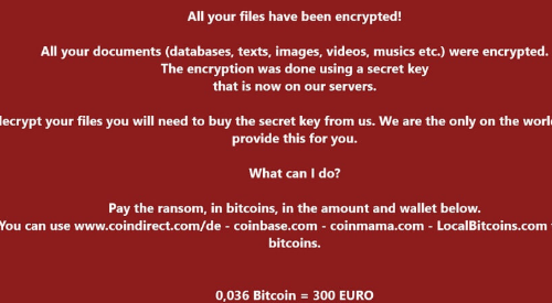 Rimuovere .Wholocked file ransomware