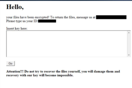 Aim ransomware