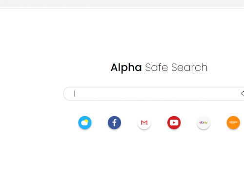 Retirer Alphasearch.co