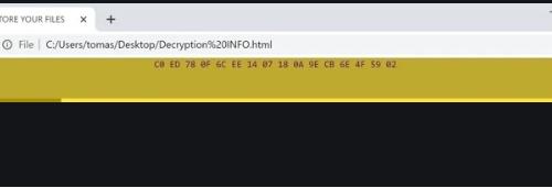 Remove .CCHH file virus