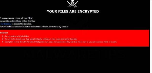 Fjerne MAKB ransomware