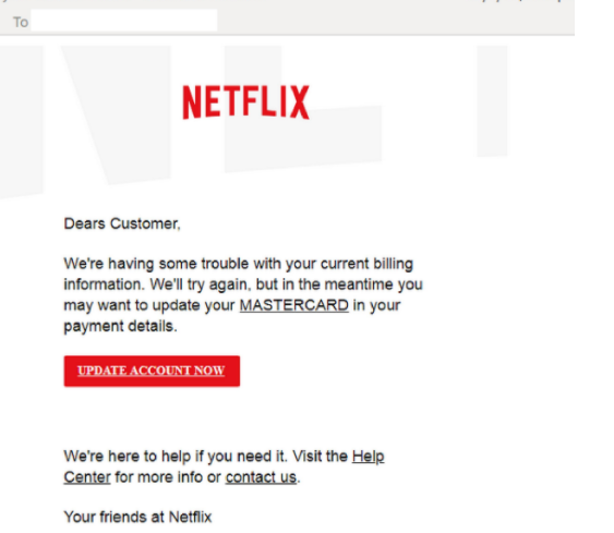 Netflix scam Removal
