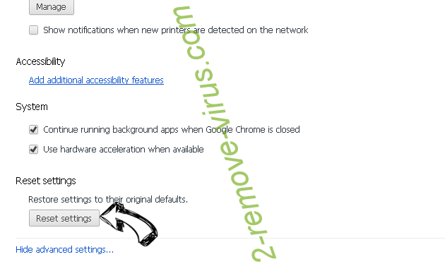 SkillInitiator Chrome advanced menu