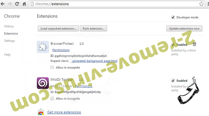 HDConverterSearch Chrome extensions remove