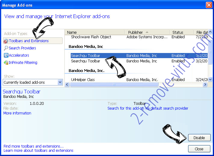 HDConverterSearch IE toolbars and extensions