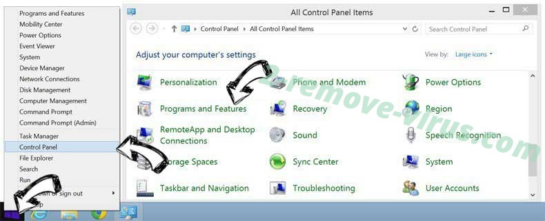 Delete HDConverterSearch from Windows 8