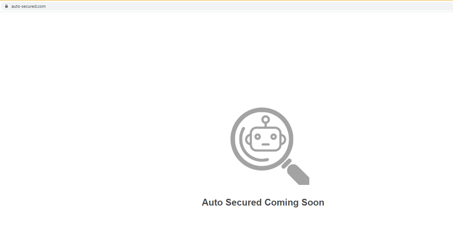 Ta bort Auto-secured.com
