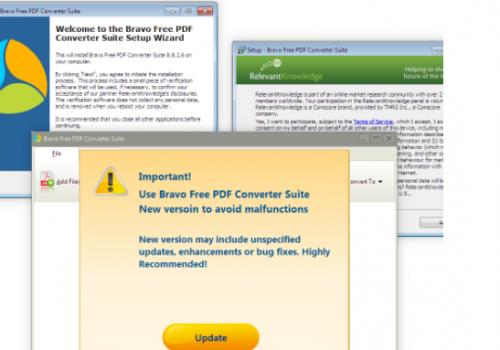 Ta bort Bravo PDF Converter