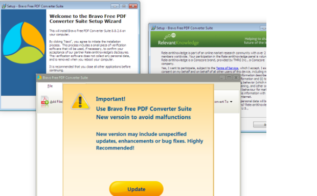 ازاله Bravo PDF Converter