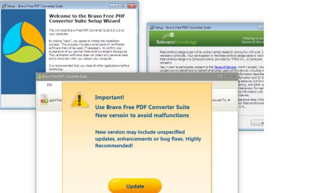 Удалить Bravo PDF Converter