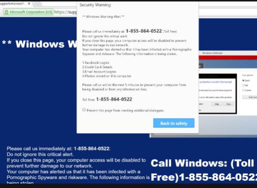 Microsoft Important Alert scam – Cara menghapus