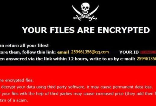 Retirer [259461356@qq.com].259 ransomware
