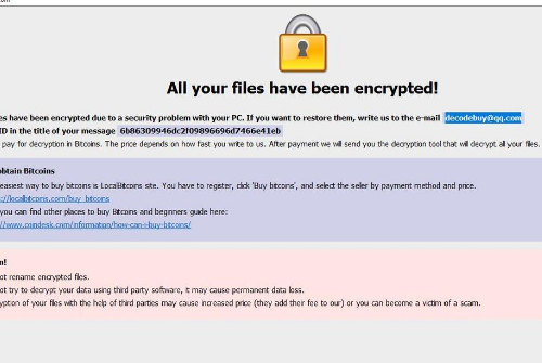 Menghapus Crypt ransomware