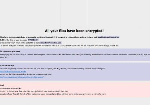 Easy2Lock ransomware Eltávolítása
