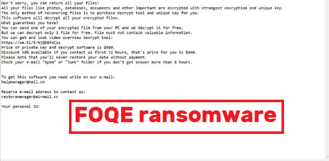 FOQE ransomware