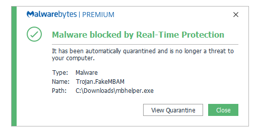 Remover FakeMBAM malware
