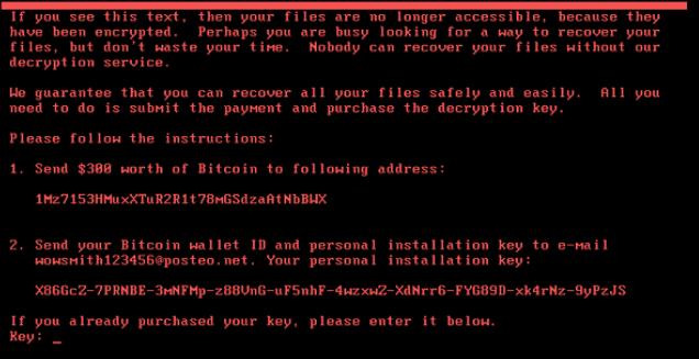 Mame Vse ransomware