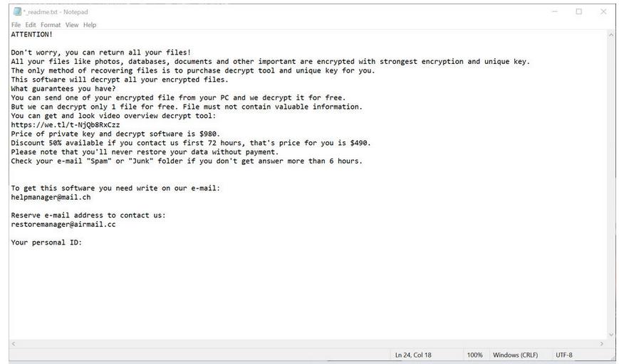 NYPG ransomware