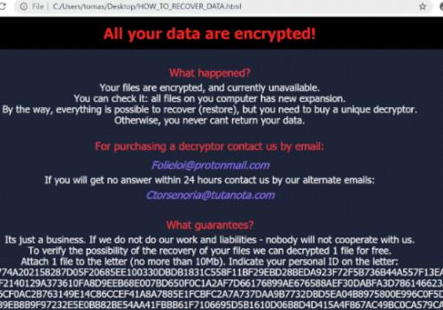 .Slfyvggi ransomware Penghapusan