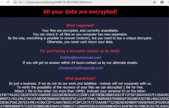 Slfyvggi ransomware