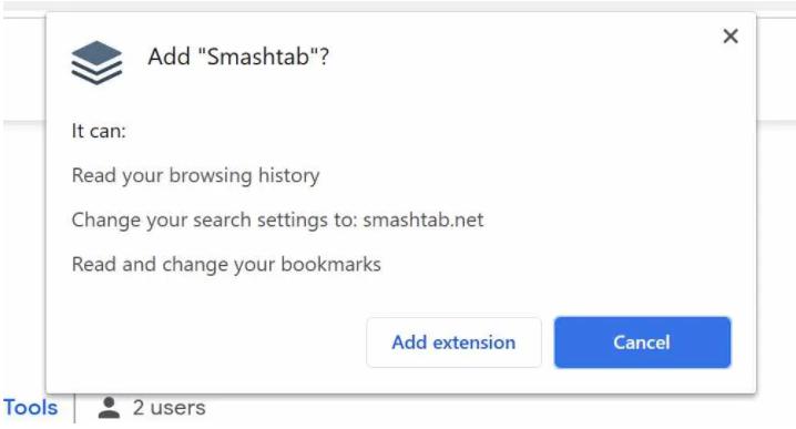 Καταργήσετε Smashtab Virus
