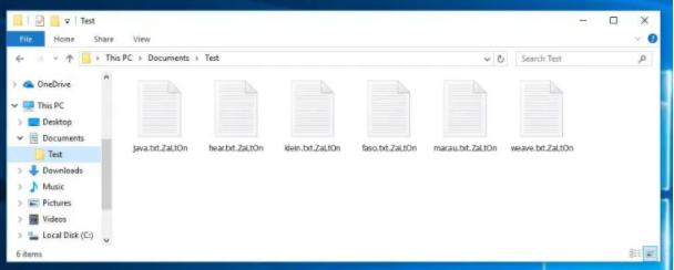 Entfernen .ZaLtOn file ransomware