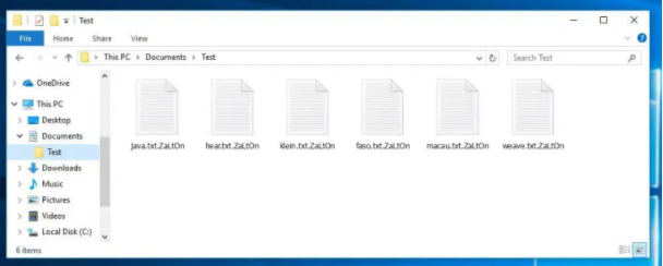 Fjerne .ZaLtOn file ransomware
