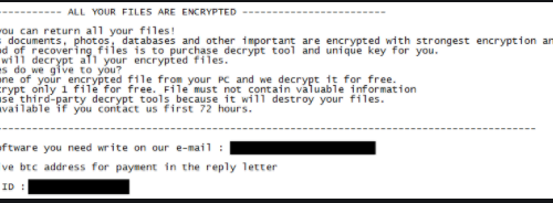 NocryCrypt0r ransomware Fjernelse