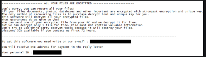 NocryCrypt0r ransomware