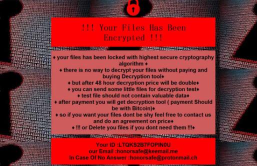 Rimuovere REDROMAN ransomware