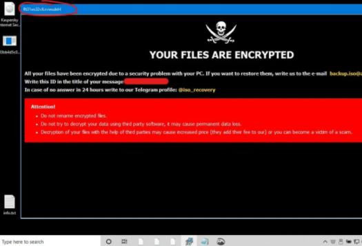 Restoreserver ransomware