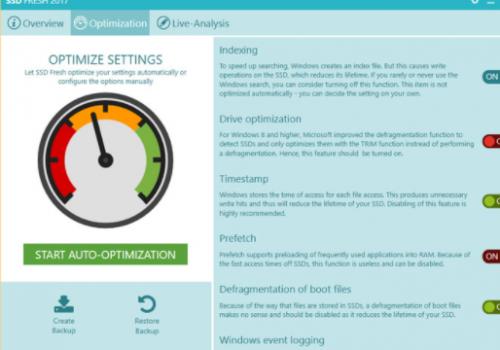 SSD Fresh Optimizer – Hvordan fjerne