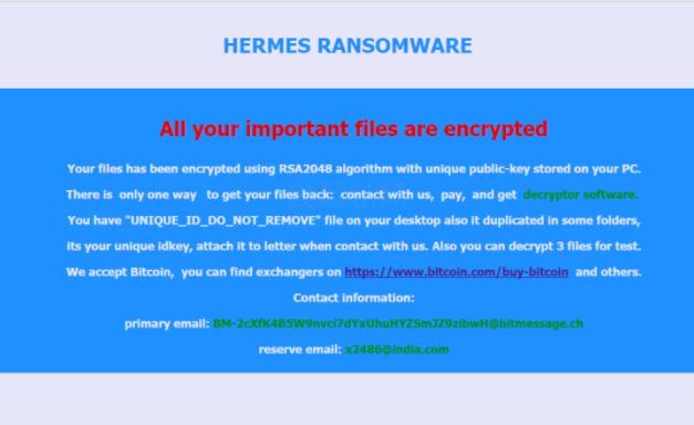 Ufo file ransomware
