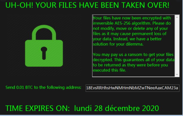 lockedv1 Files Ransomware