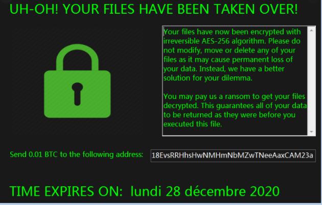 lockedv1 Files Ransomware