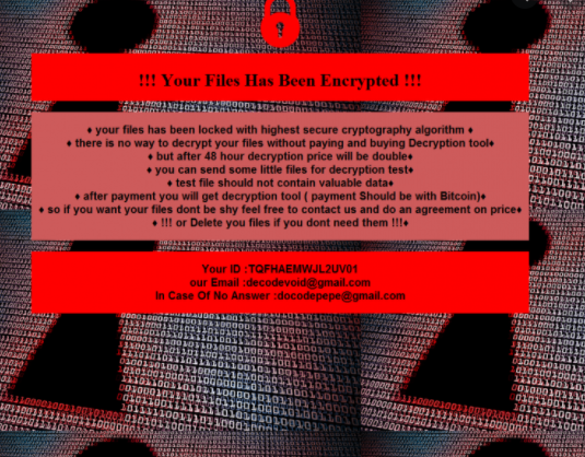 Crazy ransomware
