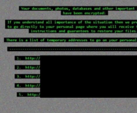 Epsilon ransomware