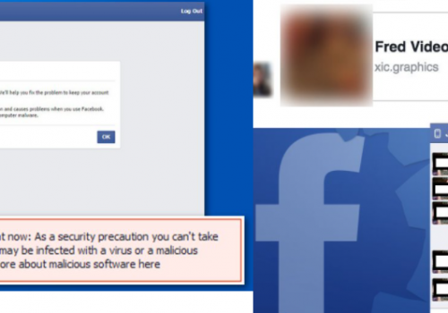 Facebook Malware warning 2021