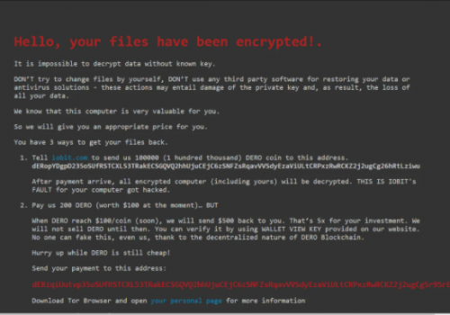Fjerne Fcorp ransomware