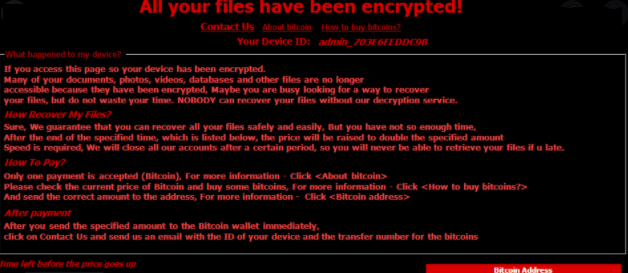 Retirer Judge ransomware