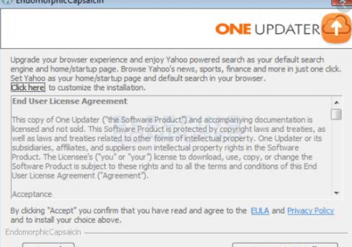 How to remove One Updater