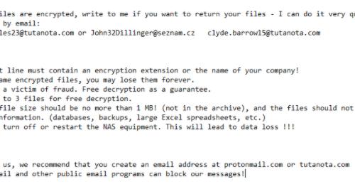 Qsayebk ransomware Odstránenie