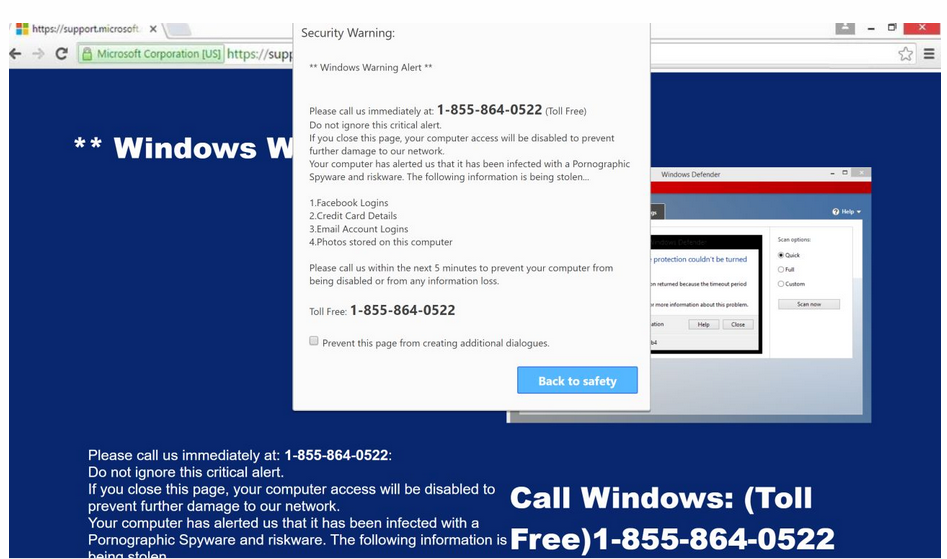 Remover WARNING CRITICAL MESSAGE scam (Virus Removal Guide)