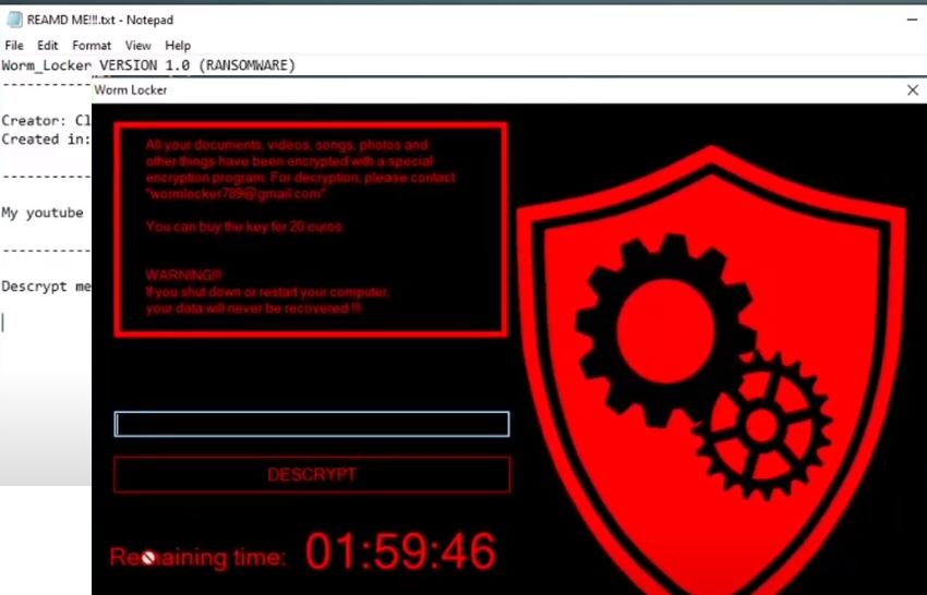 WormLocker ransomware