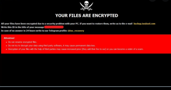 Poistaa Assist Ransomware