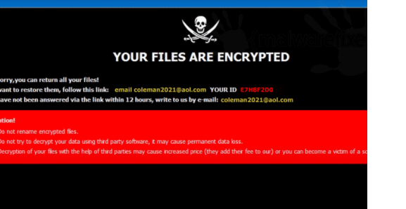 Fjerne Clman ransomware