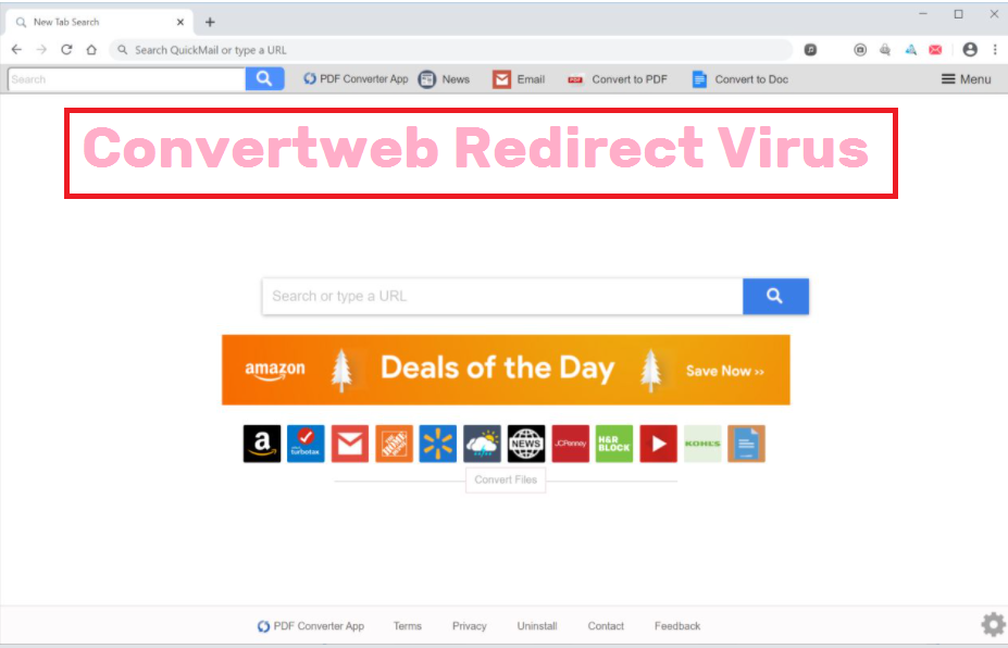 Convertweb Redirect Virus