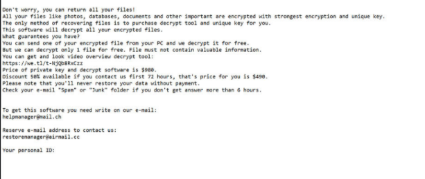 PLAM ransomware